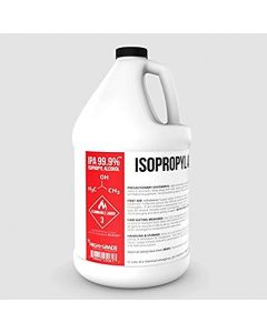 Isopropyl Alcohol, 99%, Purified, Case/4 gallons, Item# 7725-GAL