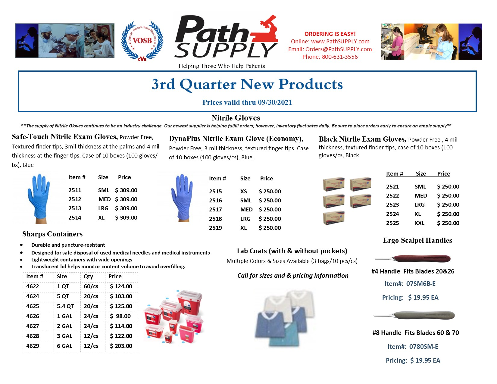 3rd Quarter New Products